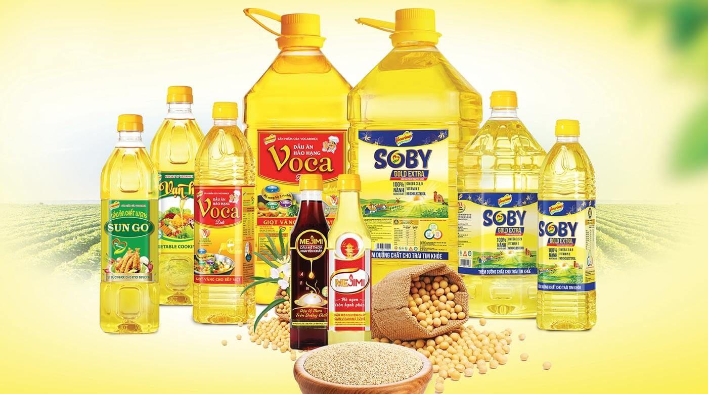 Sản xuất dầu ăn 1