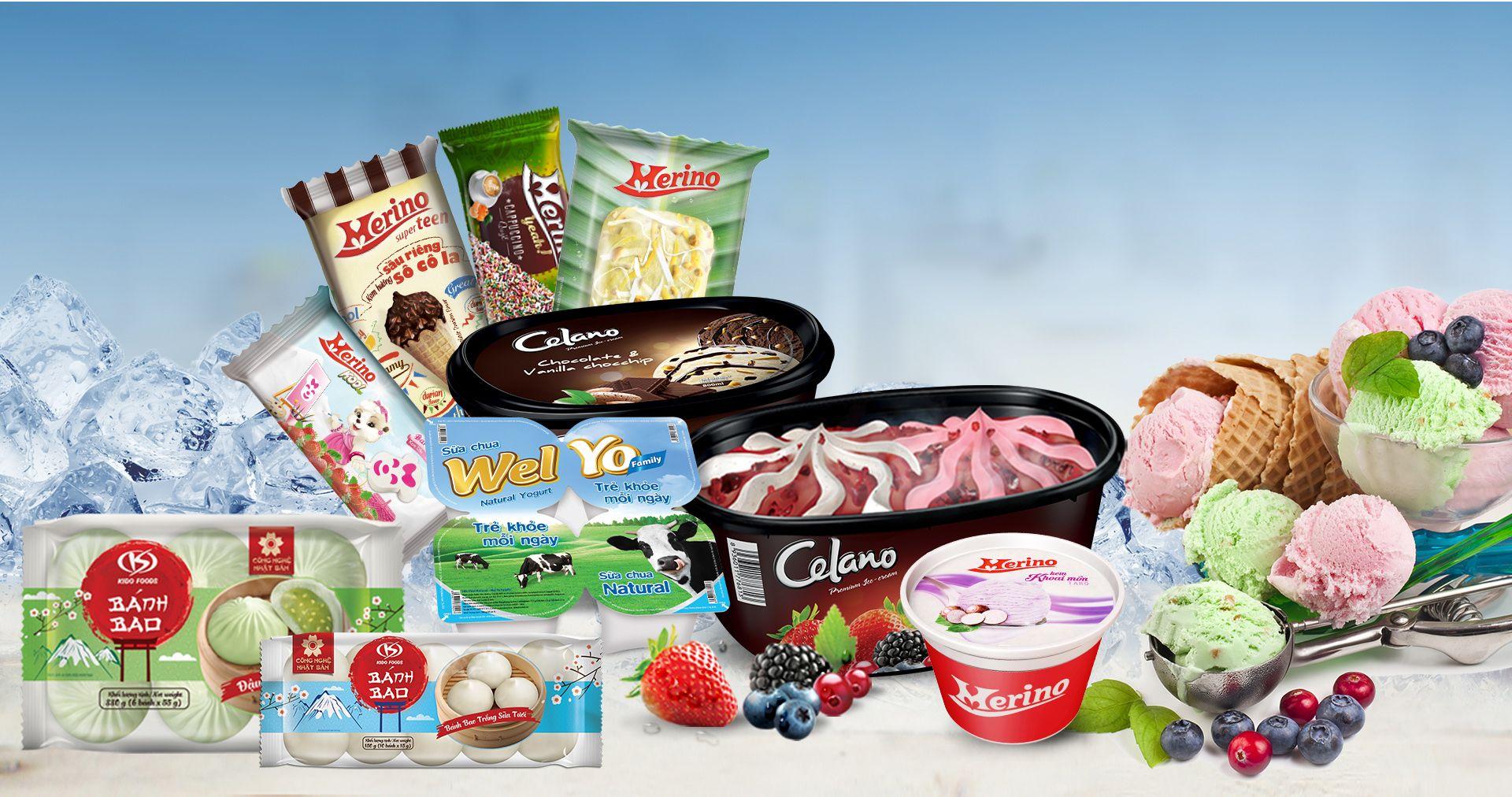 KIDO tăng mạnh lãi nhờ bán kem